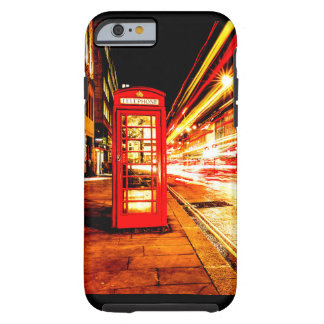 iPhone Case- London phone booth Tough iPhone 6 Case