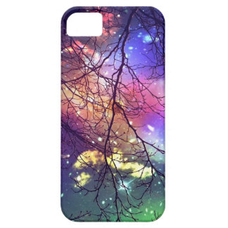 "iphone case ""look to the stars"" night, sky, trees"