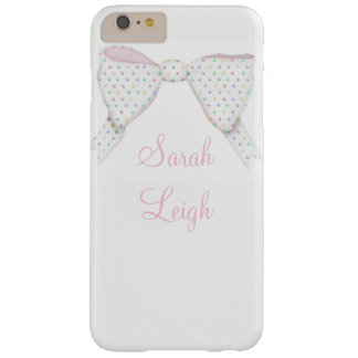 iPhone Case Polka Dot Bow Your Name Feminine