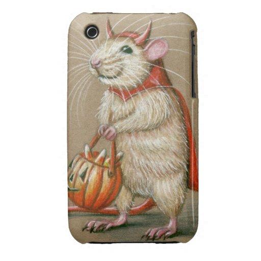 iPhone case rat devil halloween cape iPhone 3 Covers