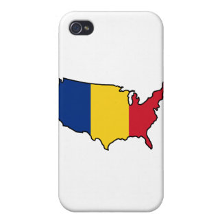 iPhone Case: Romanian in USA iPhone 4 Covers