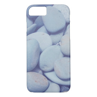 iPhone Case, Smooth Pebble Rock, Blue Rock iPhone 8/7 Case