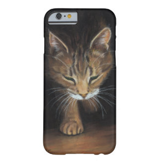 iPhone case Tabby Cat coming out of the shadows Barely There iPhone 6 Case