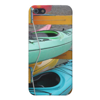 iPhone case with colorful kayaks iPhone 5/5S Cover