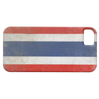 iPhone Case with Distressed Thailand Flag