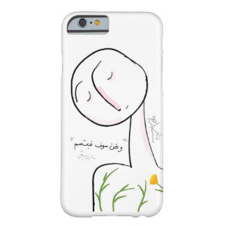 IPhone Case with Poetic Illustration