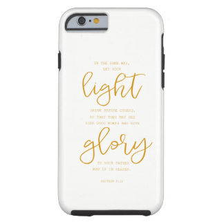 Iphone case with Scripture - Matthew 5:16