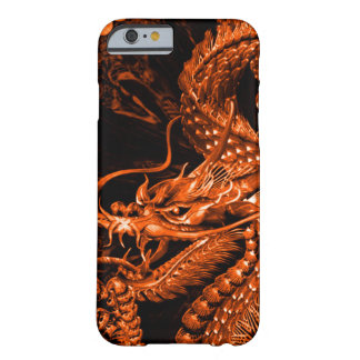 Iphone Chinese Bronze Emperor Dragon Art Barely There iPhone 6 Case
