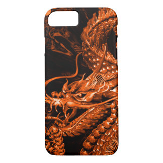 Iphone Chinese Bronze Emperor Dragon Art iPhone 7 Case