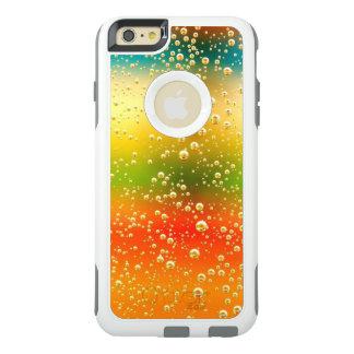 iPhone cool rainbow metalic desing case