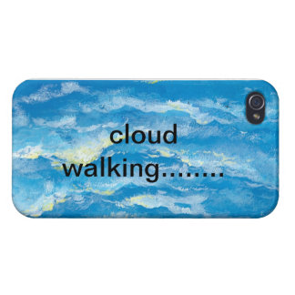 Iphone Cover - Cloud Walking Covers For iPhone 4