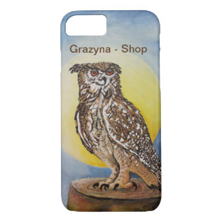 IPhone covering, owl, iPhone 8/7 Case