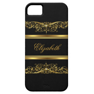 iPhone Elegant Classy Gold Floral Case For The iPhone 5