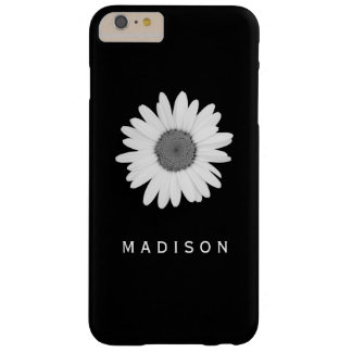 IPhone I Phone Black and White Daisy Flower Case