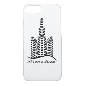 iPhone / iPad case It's not a dream Skyscrapers