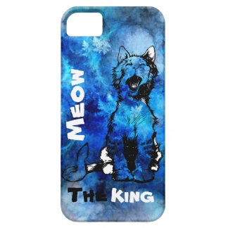 iPhone Meow The King Cat Design Barely There iPhone 5 Case