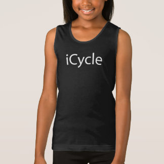 Iphone Parody Cool Funny Cycling Icycle Singlet
