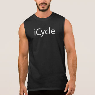 Iphone Parody Cool Funny Cycling Icycle Sleeveless Shirt