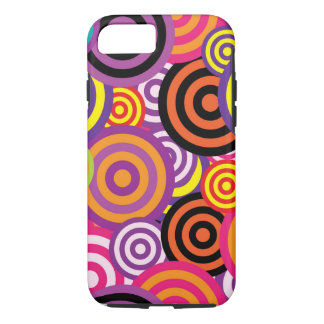 iPhone Retro Circles iPhone 8/7 Case