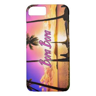 iPhone/Samsung Case: Sunset Bora Bora iPhone 8/7 Case