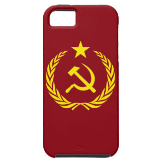 iPhone SE+iPhone 5/5S Case Cold War Communist Flag