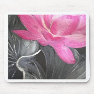 iphone skin. pink lotus design mouse pad