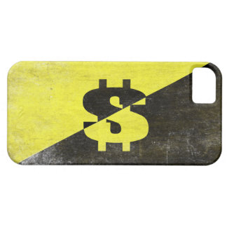 iPhone Skin with Cool Anarcho-Capitalist Flag iPhone 5 Cover