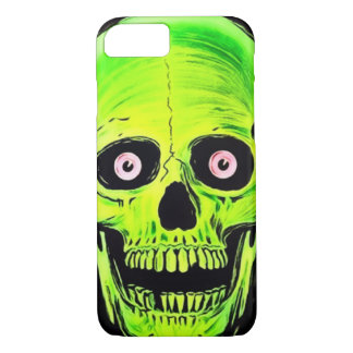 iPhone Skully Skull Horror Ghost Skull iPhone 7 Case