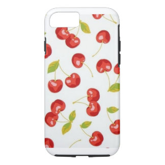 Iphone though phone case Cherries