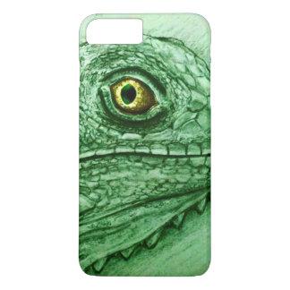 iPhone vintage case - Iguana