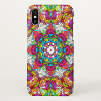 iPhone X Case Drawing Floral Doodle G30