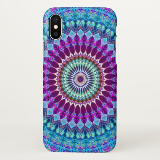 iPhone X Case Geometric Mandala G382