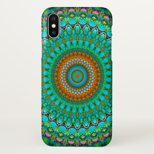 iPhone X Case Geometric Mandala G388