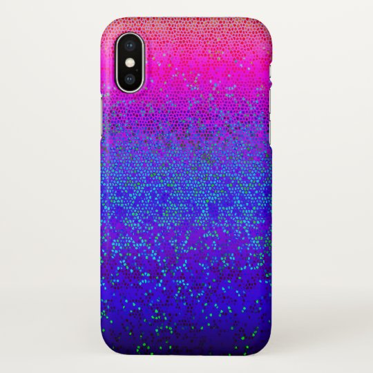 iPhone X Case Glitter Star Dust