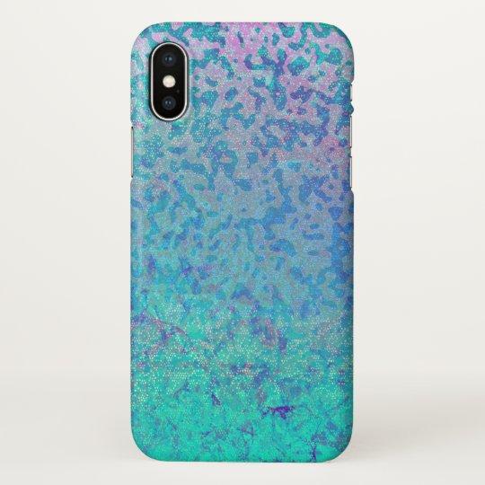 iPhone X Case Glitter Star Dust
