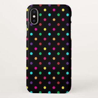 iPhone X Case Polkadots