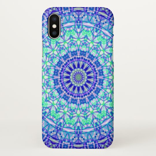 iPhone X Case Tribal Mandala G389