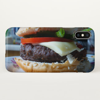 iPhone X-in-a-Hamburger Phone Case
