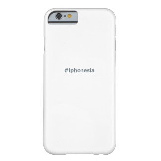 #iphonesia barely there iPhone 6 case