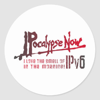 IPocalypse Now! Round Sticker