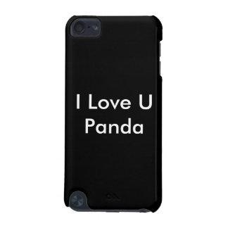 "iPod 5g ""I Love U Panda"" Case"