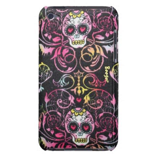 IPod Case - Dia De Los Mueretos Skulls iPod Case-Mate Cases