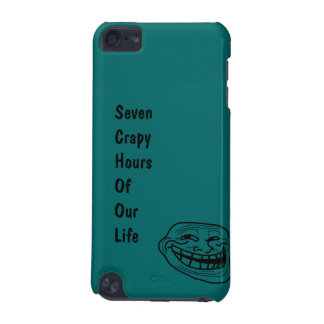 Ipod case : SCHOOL (seven crapy hours of our life) iPod Touch 5G Case