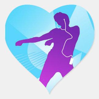 iPod Jam Heart Sticker