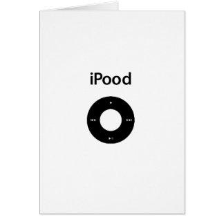 Ipod Spoof Ipood Black Cards