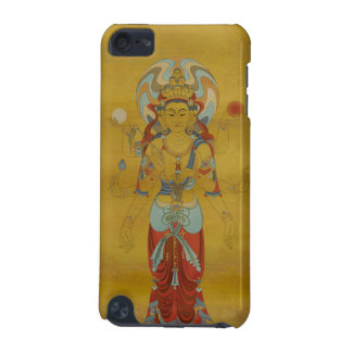 iPod Touch4G - 8 Arm Guan Yin Buddha Bamboo Back iPod Touch (5th Generation) Cover