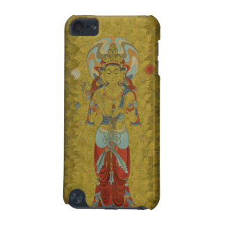 iPod Touch4G - 8 Arm Guan Yin Buddha Maple Leaf iPod Touch 5G Case