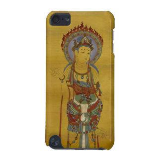 iPod Touch4G - Fire Mandala Buddha Bamboo Backg iPod Touch 5G Case