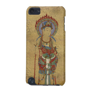 iPod Touch4G - Fire Mandala Buddha Crackle Backg iPod Touch (5th Generation) Covers