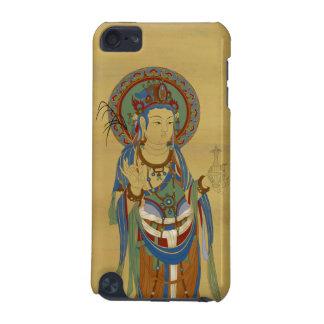 iPod Touch4G - Guan Yin Buddha Bamboo Background iPod Touch 5G Case